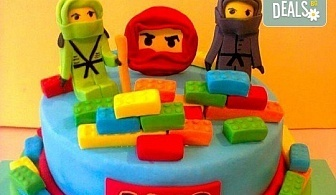 За момчета! Детски торти за момчета с коли и герои от филмчета с ръчно моделирана декорация от Сладкарница Джорджо Джани