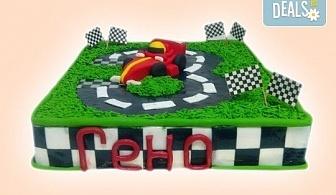 За момчетата! 3D торта с герои от филми по дизайн на Сладкарница Орхидея!