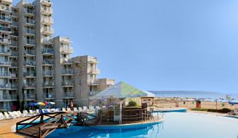 На море в Албена! Нощувка на база All inclusive + чадър и 2 шезлонга на плажа в Албена от хотел Елица