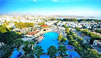 На море в Бодрум, Турция! 7 нощувки на база All Inclusive + 2 басейна и СПА в хотел Palm Garden****. Дете до 12г. - БЕЗПЛАТНО