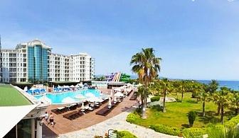 Mоре в Дидим, Турция! 5* All Inclusive на брега на морето, 7 нощувки + 2 басейна от хотел Didim Beach Elegance. ДВЕ деца до 12.99г. - БЕЗПЛАТНО