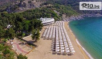 На море в Гърция през Май! 5 нощувки на база Ultra All inclusive в Хотел Bomo Club Tosca Beach 4*, Кавала, от Мисис Травъл