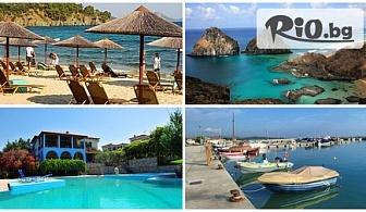 На море в Халкидики през юни със собствен транспорт! 5 нощувки със закуски и вечери в хотел Toroneos Hotel 2*+ за 228лв, от Космополитън Травъл