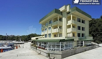 На море (10.7-15.8) в Китен, хотел Марина 3*. Нощувка в стая с изглед парк на база All Inclusive за двама