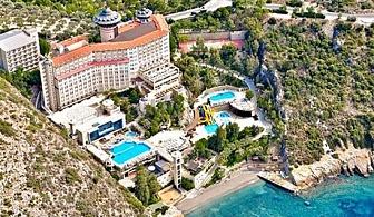 На море през Септември в Кушадасъ, Турция! 7 All Inclusive нощувки в хотел Alkoclar Adakule*****.  Дете до 13г. - БЕЗПЛАТНО