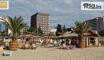 На море в Слънчев бряг на първа линия! Нощувка на база Ultra All Inclusive + басейн, шезлонг и чадър, от МПМ Хотел Орел 3*