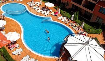 На море в Слънчев бряг през Септември! Нощувка + външен басейн в Апарт - хотел Ефир