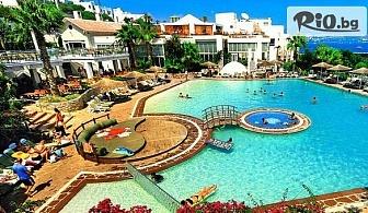 Морска почивка в Бодрум, Турция! Нощувка на база Ultra All Inclusive в Isis Hotel Spa 5*, със собствен транспорт, от Теско груп