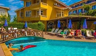 МОРСКА ПОЧИВКА НА първа линия в Созопол - хотел Блу Ориндж! Нощувка на база All inclusive + шезлонг и чадър на плажа и басейна!!!