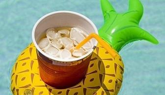 Надуваем ананас - поставка за чаша