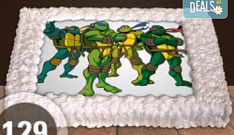 За най-малките! Торта със снимка за празника на Вашето дете с герой от филм от Сладкарница Джорджо Джани!