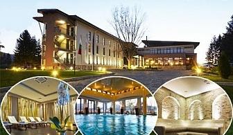 Неделен СПА реклас за двама със закуски и вечери + чаша вино и СПА в хотел Белчин Гардън****