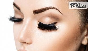 Неустоим поглед! Удължаване и сгъстяване на мигли - косъм по косъм или 3D, от Салон за красота Fabio Salsa