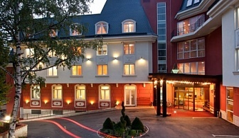 """Невероятна Нова Година в хотел Акватоник Велинград! 3 или 4 нощувки със закуски, вечери, Новогодишна Празнична Вечеря със специалното участие на Ансамбъл """"БЪЛГАРЕ"""" +  минерален басейн и Спа!"""