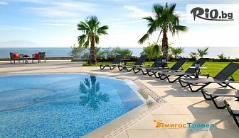 Незабравима почивка в Гърция! Нощувка със закуска и вечеря в хотел Кинг Марон 4*, Марония + басейн, чадър, шезлонг и СПА, от Амигос Травъл