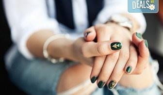 За нежни ръце и перфектен стил! Маникюр с лакове на Morgon Taylor или Gelish + бонус: 2 декорации и парафинова терапия в Салон за красота и СПА Станиели!
