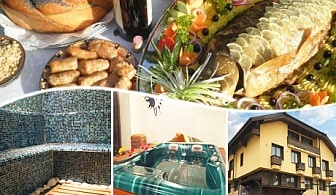 Никулден в Банско! 1 или 2 нощувки на човек със закуски и празнична вечеря + сауна и парна баня в хотел София*** Банско