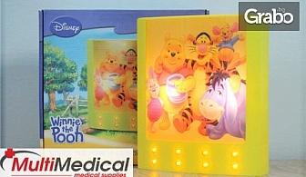 Нощна LED лампа за деца Sirius - Disney