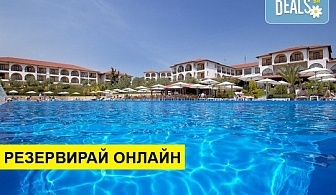 Нощувка на база All inclusive в Akrathos Beach Hotel 3*, Уранополис, Халкидики