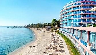 Нощувка на база All inclusive на човек + 3 минерални басейна, чадър и шезлонг на плажа от хотел Сириус Бийч**** Константин и Елена. Дете до 12г.+ дете до 4г.- БЕЗПЛАТНО