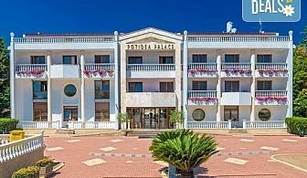 Нощувка на база Ultra all inclusive в Potidea Palace Hotel 4*, Агиос Мамас, Халкидики