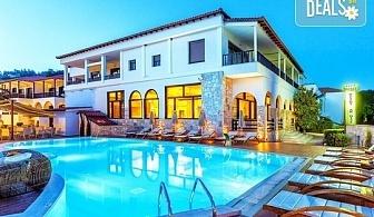 Нощувка на база Закуска и вечеря, All inclusive в Possidi Paradise Hotel 4*, Посиди, Халкидики