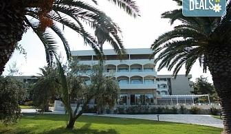 Нощувка на база Закуска и вечеря, Закуска, обяд и вечеря в Kassandra Palace Hotel & Spa 4*, Криопиги, Халкидики