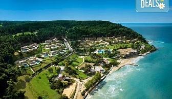 Нощувка на база Закуска и вечеря, Закуска, обяд и вечеря в Sani Beach Club & Spa 5*, Сани, Халкидики