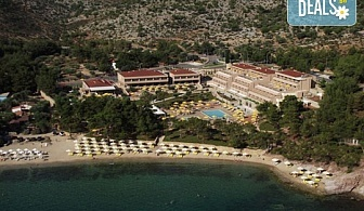 Нощувка на база Закуска и вечеря, Закуска, обяд и вечеря в Royal Paradise Beach Resort & Spa 5*, Потос, о. Тасос