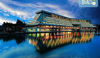 Нощувка на база Закуска, Закуска и вечеря в Porto Carras Meliton Thalasso & Spa Hotel