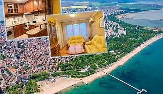 Нощувка за до четирима в апартамент за гости Катлея, на 200 м. от плажа в Бургас