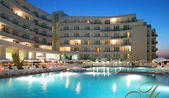 Нощувка на човек на база All Inclusive + вътрешен басейн и джакузи в хотел Феста Панорама****, Несебър