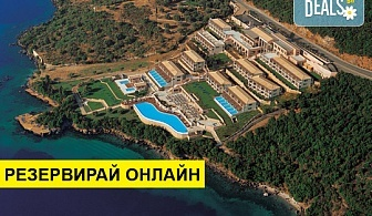 Нощувка на човек на база Закуска и вечеря в Ionian Blue Hotel 5*, Лефкада, о. Лефкада