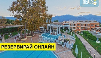 Нощувка на човек на база Закуска, Закуска и вечеря в Litohoro Olympus Resort Villas & Spa 5*, Litochoro, Олимпийска ривиера