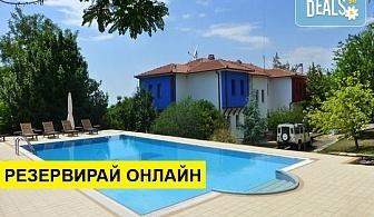 Нощувка на човек на база Закуска, Закуска и вечеря в FilosXenia Roxani Country House Hotel 3*, Марония, Северна Гърция