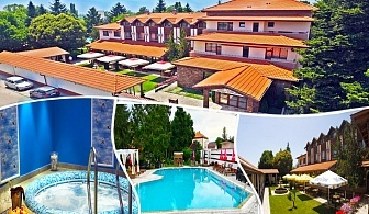 Нощувка на човек със закуска + басейн и релакс зона в СПА хотел Ивелия, с. Дъбница, край Огняново