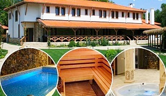 Нощувка на човек със закуска + басейн и СПА в исторически комплекс Стара Плиска