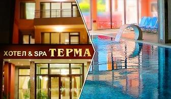 Нощувка на човек със закуска + минерален басейн, джакузи и СПА пакет в хотел Терма, с. Ягода