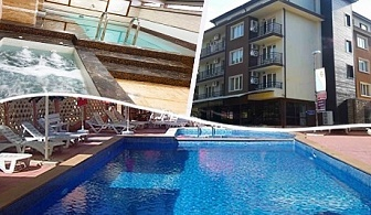 Нощувка на човек със закуска, обяд и вечеря + басейн + възможност за ползване на релакс зона в хотел Даниела, Китен