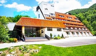 Нощувка на човек със закуска, обяд и вечеря + СПА зона само за 40 лв. в хотел Еверест, Етрополе