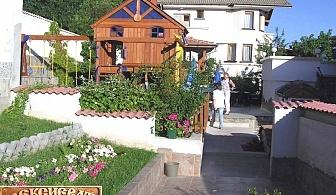Нощувка на човек със закуска и вечеря в Алексиевата къща, с. Гургулят, обл. Софийска