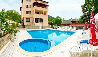 Нощувка на човек със закуска и вечеря + басейн с минерална вода само за 39 лв. в хотел Прим, Сандански