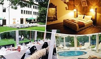 Нощувка на човек със закуска или закуска и вечеря* + басейн и джакузи в комплекс Манастира, Свищов