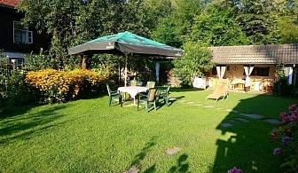 Нощувка за 8 човека + барбекю, китен двор с градина и още удобства в къща Маришница в Априлци