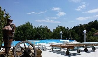 Нощувка за 8, 10 или 18 човека + басейн, барбекю и още в Комплекс Кметчетата край Габрово - с. Кметчета