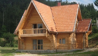 Нощувка за 17 човека край Банско в къща за гости Ламбиеви колиби в алпийски стил - с. Краище