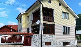 Нощувка за 15 човека край Самоков в къща за гости Съни Хаус с механа и камина - с. Маджаре