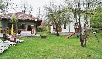Нощувка за 20 човека + механа с камина и пещ в къща При Бачо Кольо край Елена - с. Илаков рът