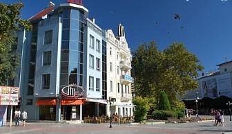 Нощувка за 2 или 4 човека през Юни и Юли в хотел Сити Марк, гр. Варна