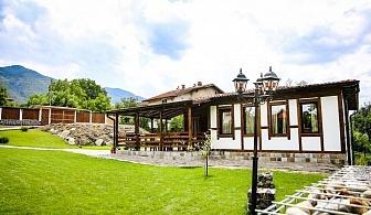 Нощувка за до 10 човека + веранда с барбекю и слънчев двор в новопостроена къща Къщата край Сапарева баня - с. Ресилово
